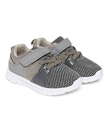 Grey Lightweight Trainers