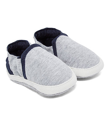 Mothercare Grey And Navy Baggies