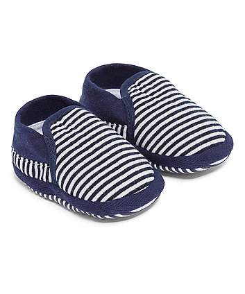 Mothercare Navy Stripe Baggies