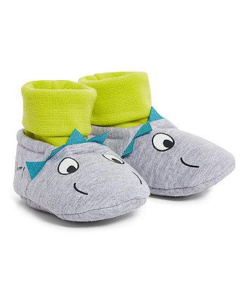 Mothercare Dinosaur Socktops