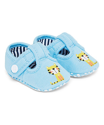 Mothercare Tiger T-Bar Pram Shoes
