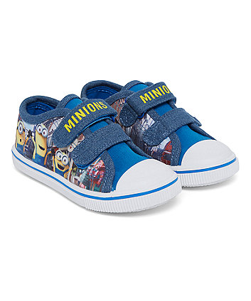 Minions Canvas Shoes