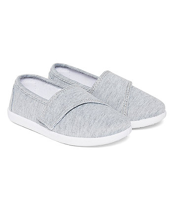 Mothercare Grey Marl Pumps