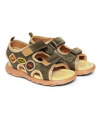Khaki Trekker Sandals