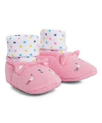 Mothercare Spotty Cat Socktops