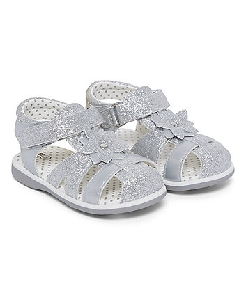 First Walkers Silver Fisherman Sandals