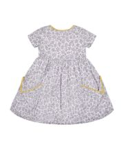 Mothercare Grey Floral Pocket Dress
