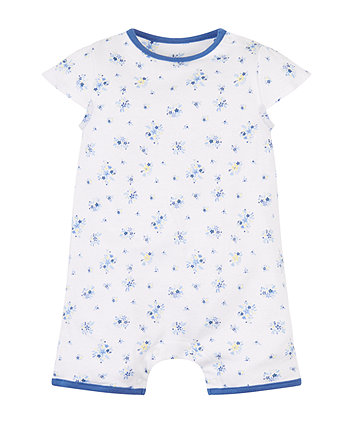 Mothercare Ditsy Floral Romper