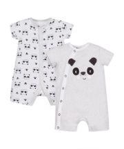 Panda Rompers - 2 Pack