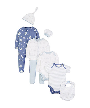 Mothercare My First 8-Piece Gift Set
