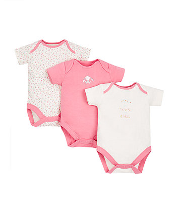 Mummy And Daddy Bodysuits - 3 Pack