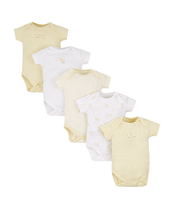 Little Duck Bodysuits - 5 Pack