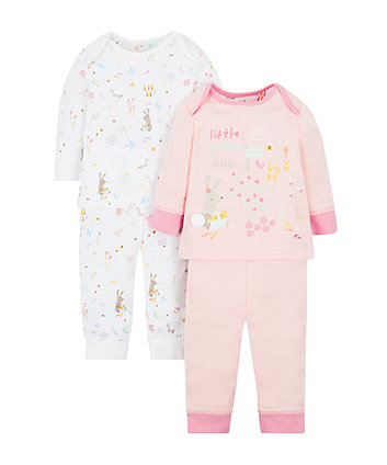 Little Garden Pyjamas - 2 Pack