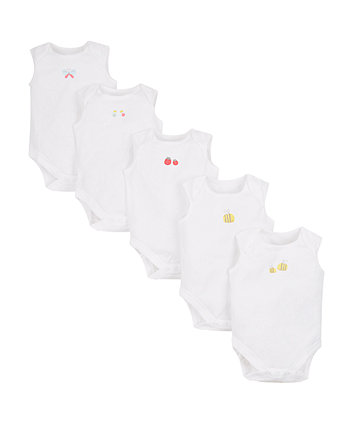 Little Bee Bodysuits - 5 Pack