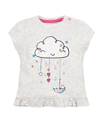Mothercare Raincloud T-Shirt