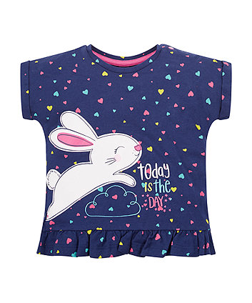 Mothercare Heart And Bunny T-Shirt