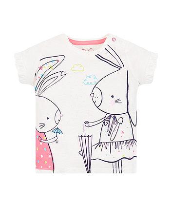 Umbrella Bunnies T-Shirt