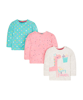 Are You Having A Giraffe Tops - 3 Pack