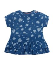 Mothercare Indigo Floral T-Shirt