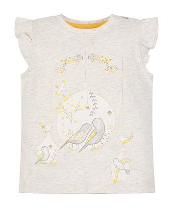 Mothercare Grey Bird T-Shirt