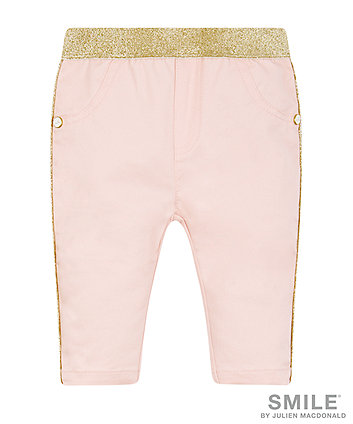 SMILE by Julien Macdonald Stretched Cotton Jeans