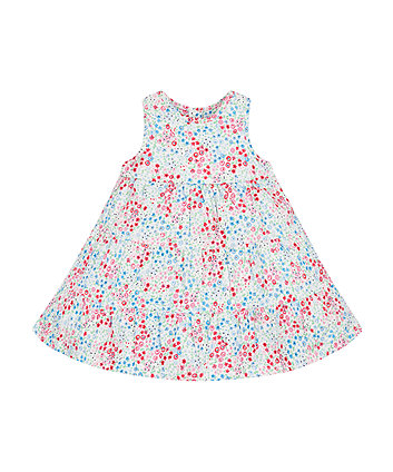 Mothercare Floral Tiered Jersey Dress