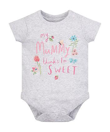 Mothercare Mummy'S Little Sweetie Bodysuit