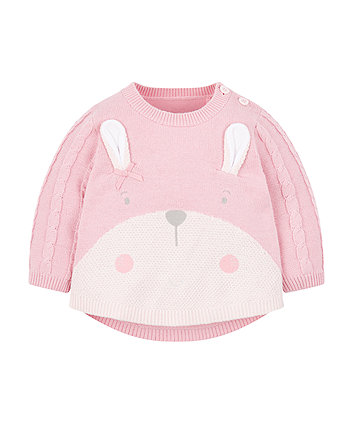 Mothercare My First Bunny Knitted Jumper