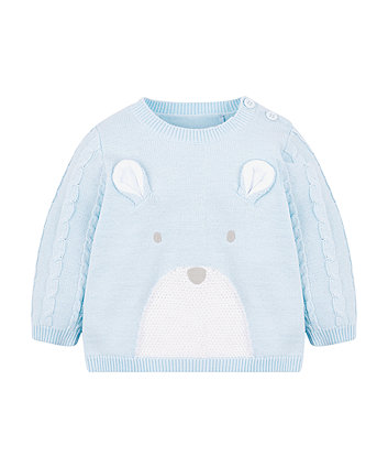 My First Bear Knitted Jumper