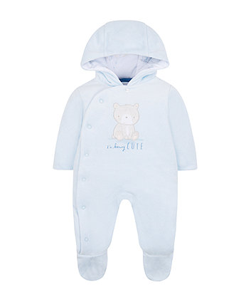My First Little Bear Pramsuit