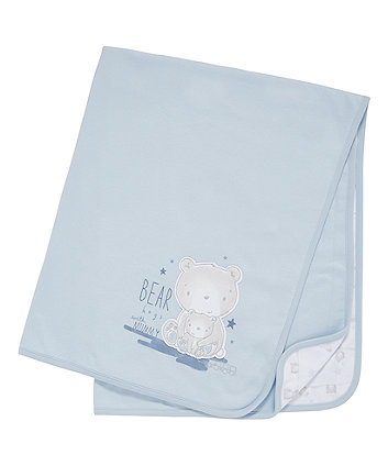 Mothercare My First Bear Shawl