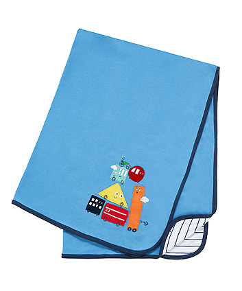 Mothercare Little Buses Shawl
