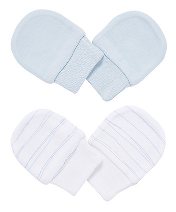 Mothercare My First Mitts - 2 Pack
