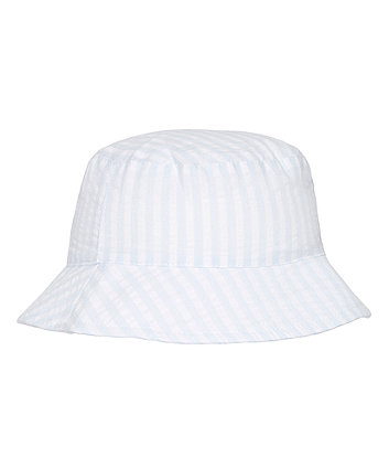 Mothercare My First Striped Fisherman Hat