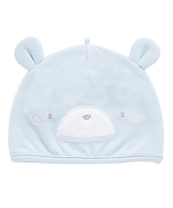 Mothercare My First Velour Bear Hat