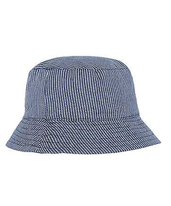 Ticking Stripe Reversible Fisherman Hat