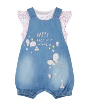 Happy Days Bibshorts And Bodysuit Set