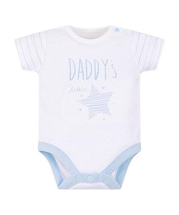 My First Daddy'S Little Star Bodysuit