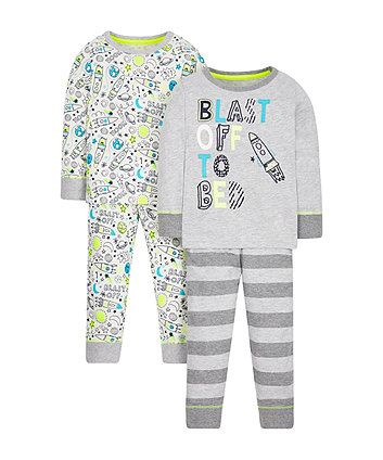 Rocket Pyjamas - 2 Pack
