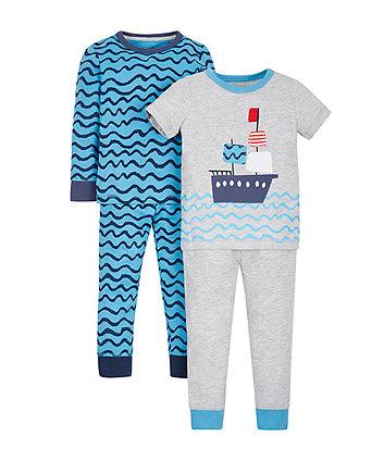 Sea Life Pyjamas - 2 Pack