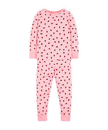 Pink Ladybird Pyjamas