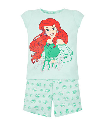 Disney Ariel Shortie Pyjamas
