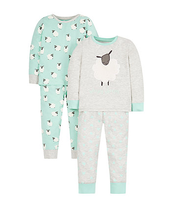 Sheep Pyjamas - 2 Pack