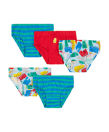 Mothercare Dino Briefs - 5 Pack