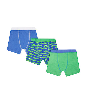 Crocodile Trunks - 3 Pack