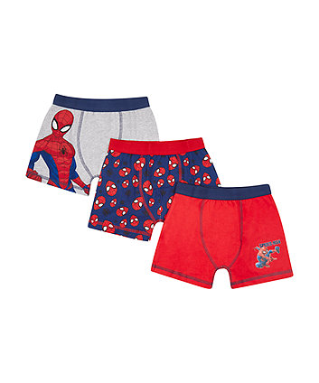Spiderman Trunks - 3 Pack