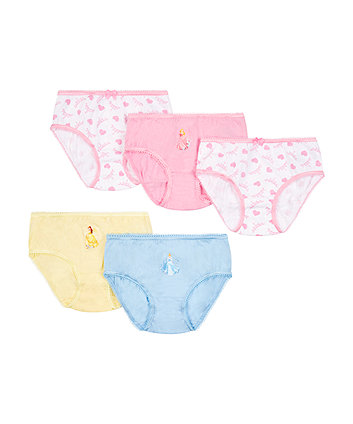 Mothercare Disney Princess Briefs - 5 Pack