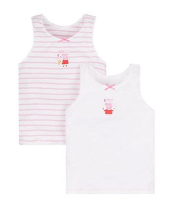 Peppa Pig Vests - 2 Pack