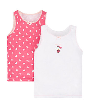 Hello Kitty Vests - 2 Pack