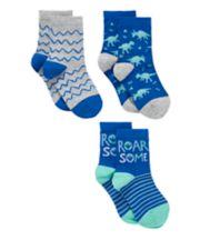 Roarsome Socks - 3 Pack